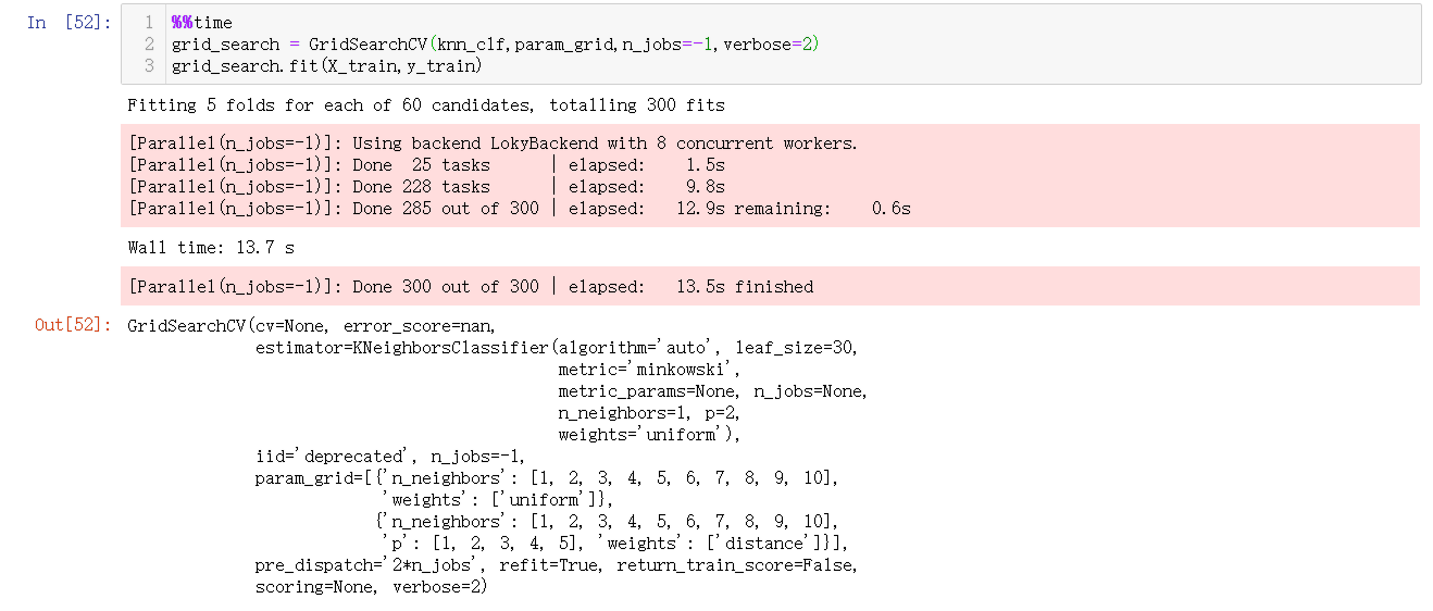 为n_jobs传入-1自动调度进行计算